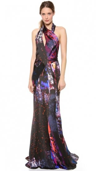【ジェイ メンデル】【J. Mendel】J  Mendel Print Turtleneck Dress  / ドレス