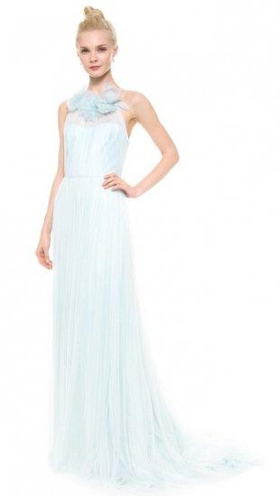 【マルケッサ】【Marchesa】 Draped Tulle Sleeveless Gown  / ドレス
