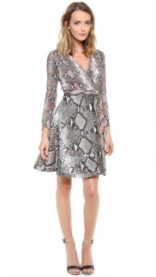 【ダイアンフォンファステンバーグ】【Diane von Furstenberg】 Amelia Wrap Dress  / ドレス