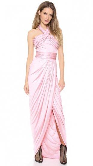 【ジャンバティスタ ヴァリ】【Giambattista Valli】 Sleeveless Halter Gown  / ドレス