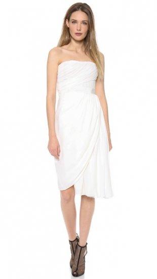 【ジャンバティスタ ヴァリ】【Giambattista Valli】 Strapless Dress  / ドレス