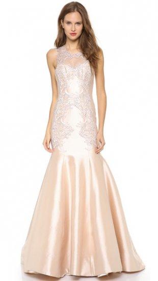 【レス ローズ】【Lela Rose】 Mirrored Lace Gown  / ドレス