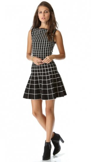 【オーネ ティテル】【Ohne Titel】 Grid Knit Dress  / ドレス
