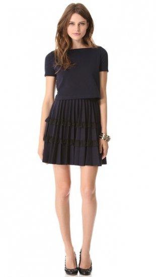 【レッドヴァレンティノ】【RED Valentino】 Pleated Dress  / ドレス