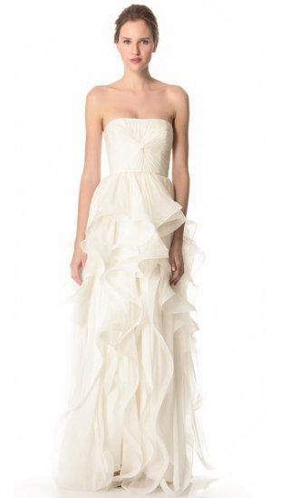 【リームアクラ】【Reem Acra】 Lilac Gown  / ドレス