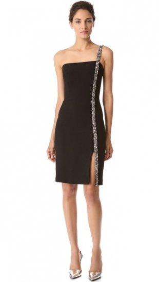 【リームアクラ】【Reem Acra】 Strapless Crepe Dress  / ドレス