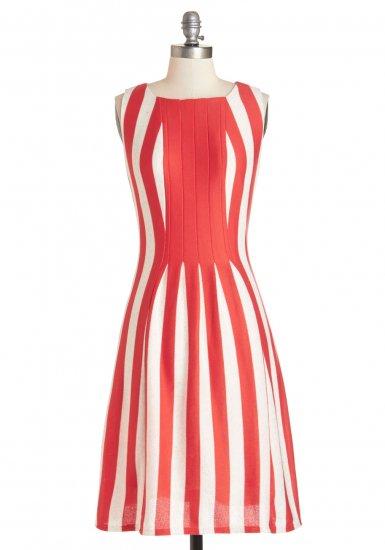 【モドクロス】【Modcloth】ドレス Impeccable Icebox Cake Dress
