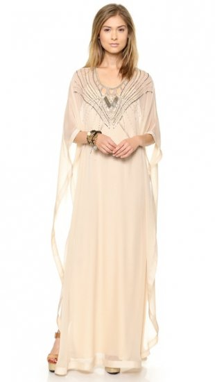 Diane von Furstenberg Clare Beaded Caftan Maxi Dress ドレス / DVF