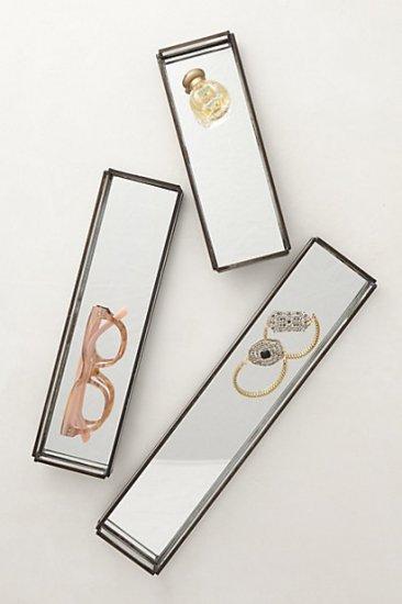 【アンソロポロジー】【Anthropologie】Mirrored Jewelry Trays