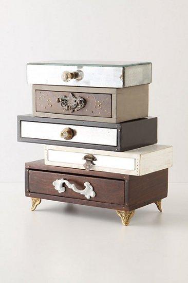 【アンソロポロジー】【Anthropologie】Topsy-Turvy Jewelry Box