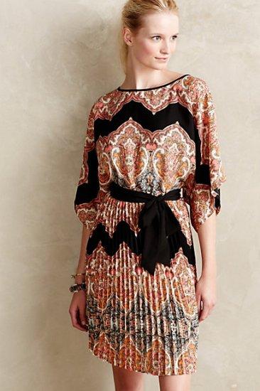 Bera Pleated Dress