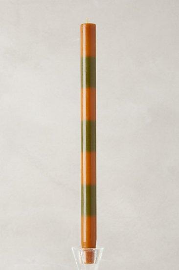 【アンソロポロジー】【Anthropologie】Harvest Stripe Tapers