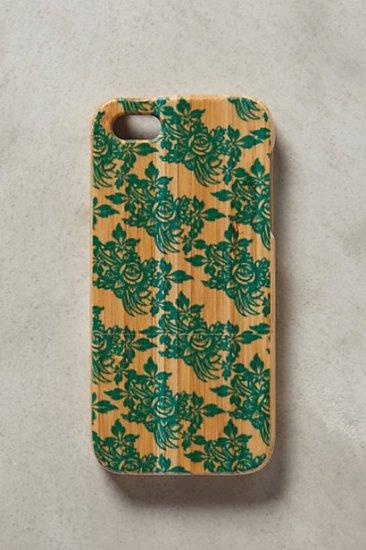 【アンソロポロジー】【Anthropologie】Bamboo Rose iPhone 5 Case