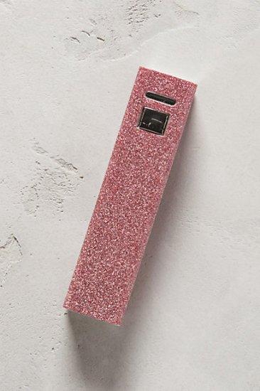 【アンソロポロジー】【Anthropologie】Metallic Powerbank iPhone Charger