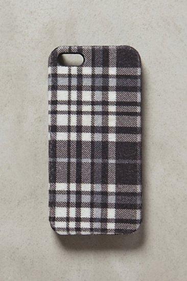 【アンソロポロジー】【Anthropologie】Neutral Plaid iPhone 5 Case