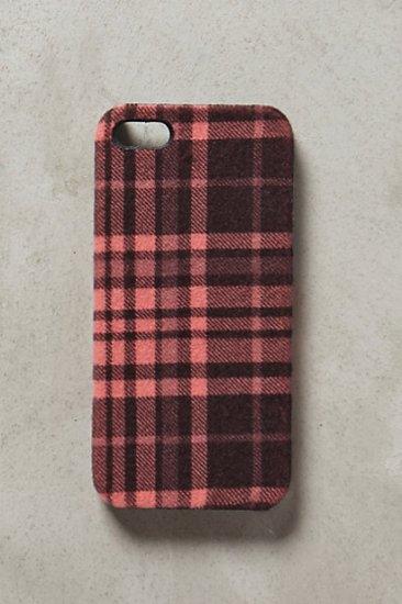 【アンソロポロジー】【Anthropologie】Rose Plaid iPhone 5 Case