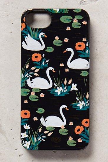 【アンソロポロジー】【Anthropologie】Swan Lake iPhone 5 Case