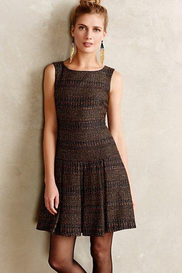 【アンソロポロジー】【Anthropologie】Shimmered Tweed Dress