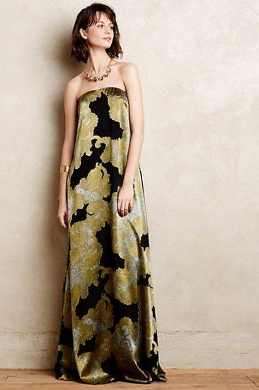 【アンソロポロジー】【Anthropologie】Velvet Willow Gown