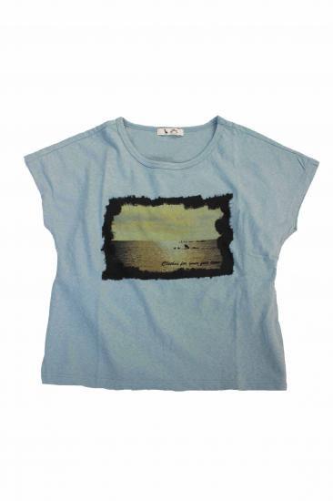 SCRIPT Photo print T-shirts