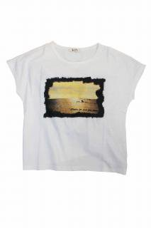 SCRIPT Photo print T-shirts
