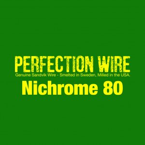 PERFECTION WIRE Nichrome80 30ft