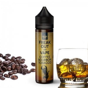 Coffee Bourbon Tobacco -FreakOut and Vape