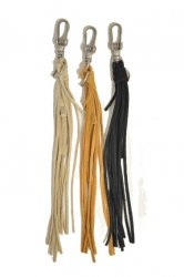 ホーボー【hobo】Cow Suede Leather Tassel Key Ring