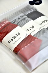 ロトト【rototo】THANK U PACK SOCKS