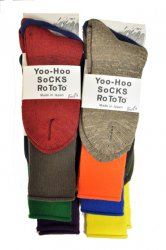 <img class='new_mark_img1' src='//img.shop-pro.jp/img/new/icons1.gif' style='border:none;display:inline;margin:0px;padding:0px;width:auto;' />ロトト【rototo】YOO HOO SOCKS