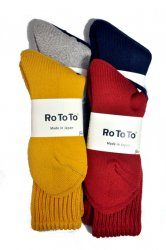 <img class='new_mark_img1' src='//img.shop-pro.jp/img/new/icons1.gif' style='border:none;display:inline;margin:0px;padding:0px;width:auto;' />ロトト【rototo】LOOSE PILE SOCKS