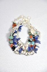ツナイハイヤ【TSUNAIHAIYA】Colorfield Beads Bracelet