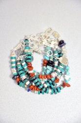 ツナイハイヤ【TSUNAIHAIYA】Colorfield Beads Bracelet (B)