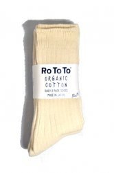 ロトト【rototo】DAILY 3 PACK SOCKS