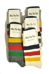 ロトト【rototo】PARK STRIPES SOCKS