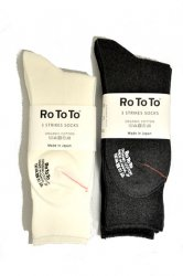 ロトト【rototo】3 STRIKES SOCKS