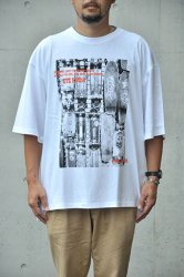 "【K2APARTMENT×ORANGE COUNTY】""90's Archive collection"" Tony Alva(トニー・アルバ) PRINT BIG TEE ホワイト"