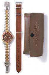 ヴァーグウォッチ【VAGUE WATCH CO.】BRWN GMT ステンレスベルト クォーツ腕時計