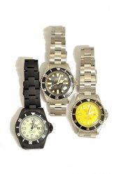 ヴァーグウォッチ【VAGUE WATCH CO.】ダイバーズサン ステンレス クォーツ腕時計