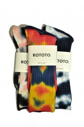 ロトト【rototo】TIE DYE FORMAL SOCKS