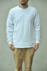 <img class='new_mark_img1' src='https://img.shop-pro.jp/img/new/icons1.gif' style='border:none;display:inline;margin:0px;padding:0px;width:auto;' />【K2APARTMENT standard select store】HOMME Garment Dyed L/S TEE ホワイト