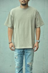 【K2APARTMENT standard select store】HOMME マグナムウェイト BIG TEE アシッドカーキ