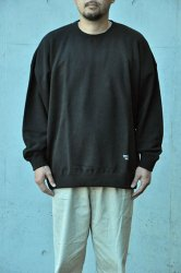 <img class='new_mark_img1' src='https://img.shop-pro.jp/img/new/icons1.gif' style='border:none;display:inline;margin:0px;padding:0px;width:auto;' />【K2APARTMENT standard select store】HOMME Big sweat crew ブラック