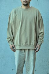 <img class='new_mark_img1' src='https://img.shop-pro.jp/img/new/icons1.gif' style='border:none;display:inline;margin:0px;padding:0px;width:auto;' />【K2APARTMENT standard select store】HOMME Big sweat crew ベージュ
