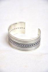 ホーボー【hobo】Droplets Silver Bracelet Wide by STANLEY PARKER