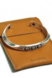 ホーボー【hobo】Hogan Silver Bracelet Narrow by STANLEY PARKER