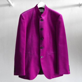 Mao Collar Tailored Jacket