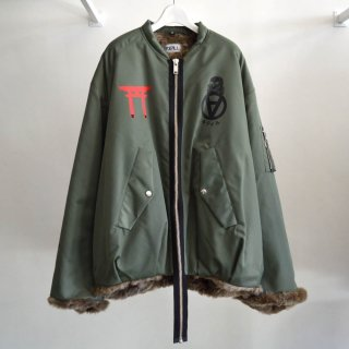 Japanese Chic MA-1 Jacket
