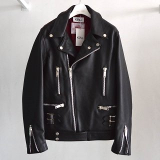 【KIDILL×JAMES GROSE LODON】Special MANILA Leather Riders Jacket