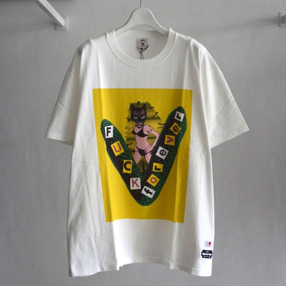 【KIDILL×EDWIN×JAMIE REID】Yellow Print T-shirts